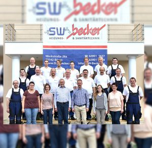 Team sw-becker - Heizungs- & Sanitärtechnik in Büren
